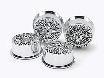 LP Tire//Carbon Wheel Set Tamiya 95369 1//32 Mini 4WD Hard Lg Dia LP Tire//Wheels