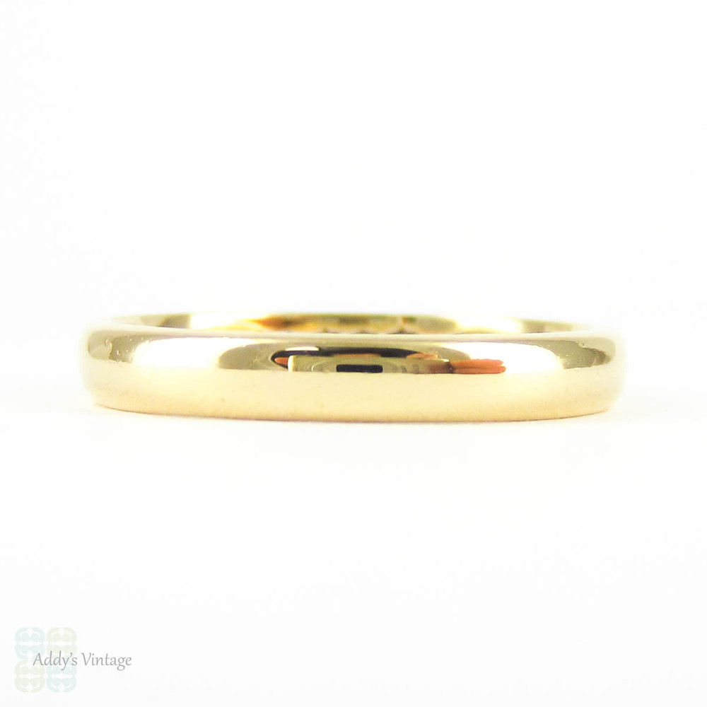 This is a graphic of Antique Scottish 50 Carat Gold Wedding Ring, Ladies Wedding Band
