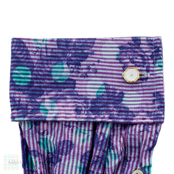 Vintage 9ct 9k Cuff Links, Octagonal Mother of Pearl Art Deco Cufflinks.