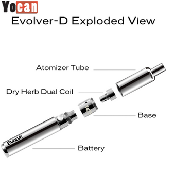 Yocan Evolve-D Dry Herb Vaporizer 2020 version