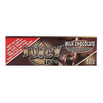 Juicy Jay 1 1/4 Rolling Papers (Milk Chocolate)