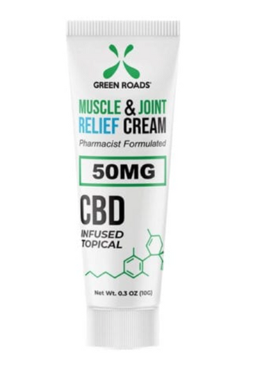 Green Roads Muscle & Joint Relief CBD Cream 50mg