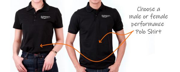 SureShot Tee™ Performance Polo Shirt