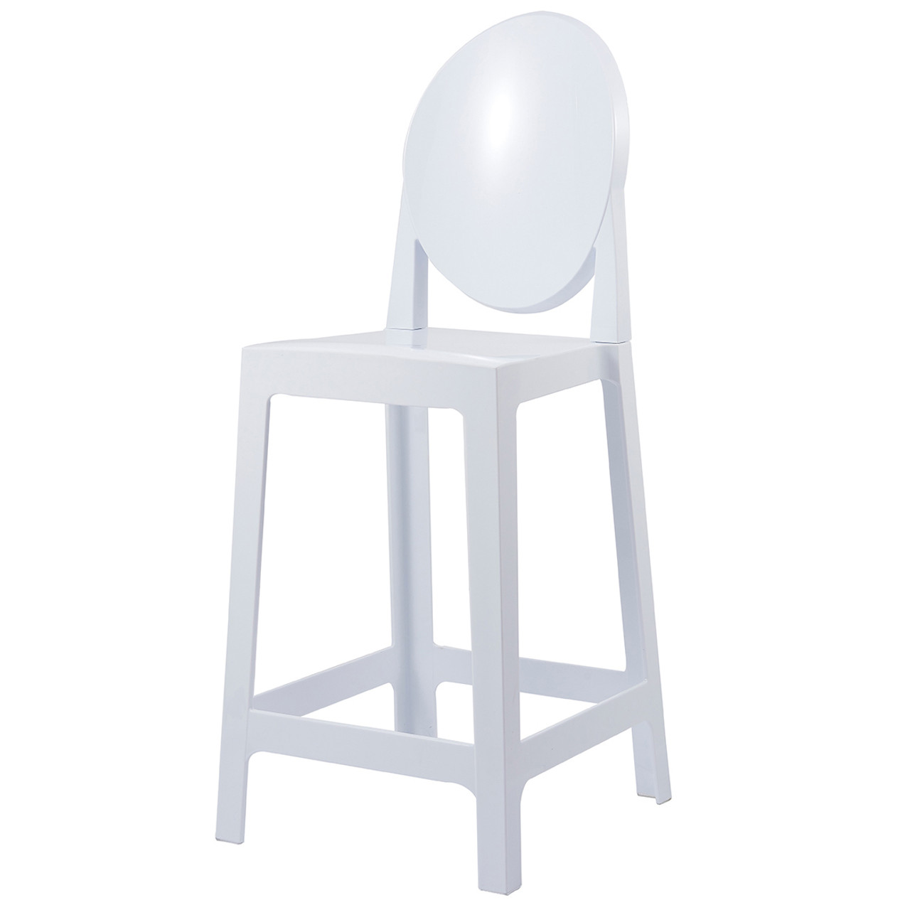 Victoria Style Ghost Bar Stool Counter Stool Clear Stool 25 Seat Height 2xhome Modern And Contemporary Furniture