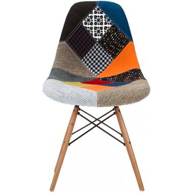 EIFFEL Fabric Sam Wooden Chair