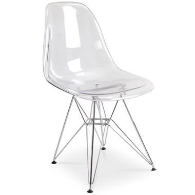 EIFFEL Wire Clear Side Chair