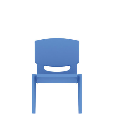 "10"" Seat Height Plastic Kids Side Chairs"