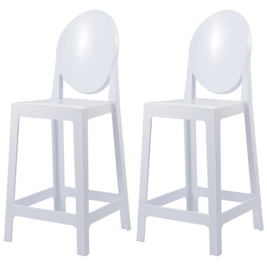 "Set of 2, Victoria Style Bar Stools Counter Stools- 25"" Seat Height"