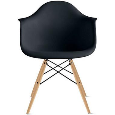 EIFFEL Natural Wood Legs Arm Chair
