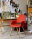 Organic Fabric Armchair