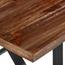 """71"""" Wood Table w/ Steel Legs"""