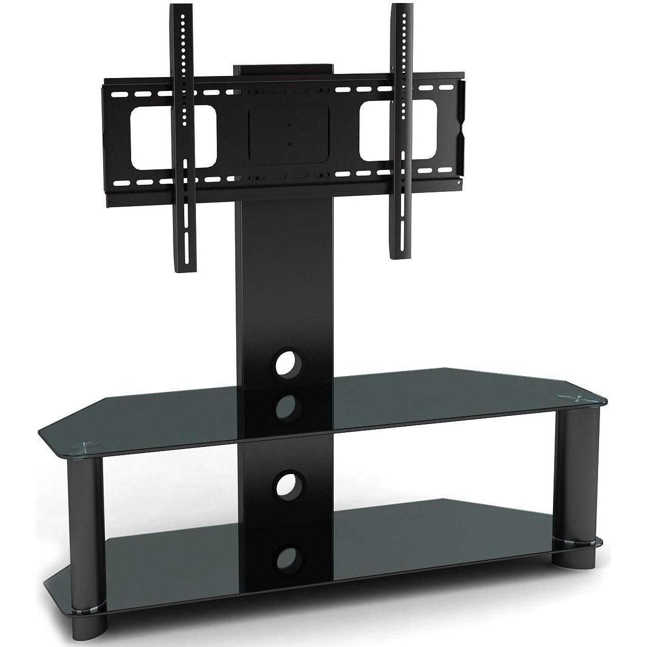 Double Shelf Tv Stand Mount Unit