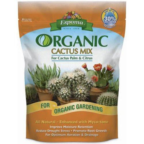 Espoma Organic Cactus Mix 4 Quart