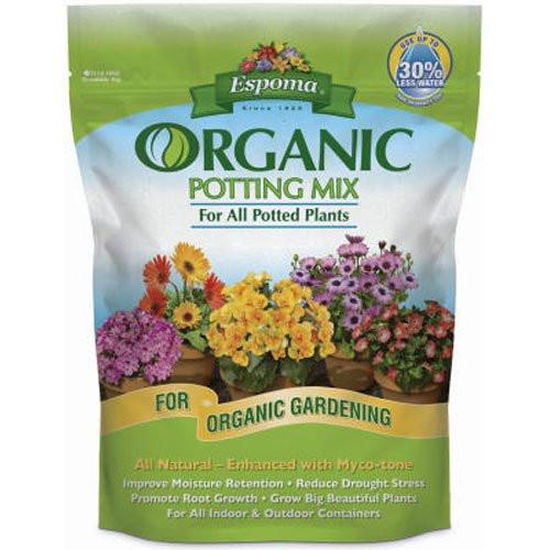 Espoma Organic Potting Mix 4 Quart