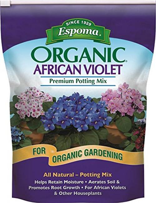 Espoma Organic African Violet Potting Mix 4 Quart