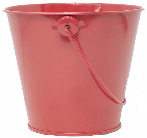 coMarket Metal Bucket for Succulent, Cactus, Candles, Ten Colors. Size Large.