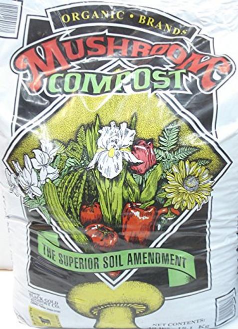 Mushroom Compost Organic Brands 40 pound bag