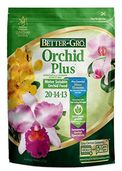 Better-Gro Orchid Plus Water Soluble Fertilizer 1 lb