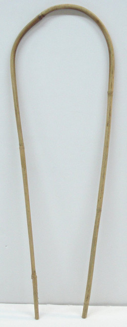 Natural Color Bamboo Hoop 18 inches Tall - Quantity 1