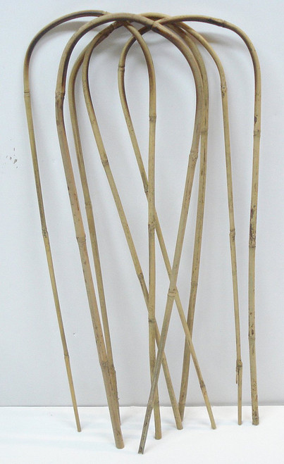 Natural Color Bamboo Hoop 18 inches Tall - Quantity 5