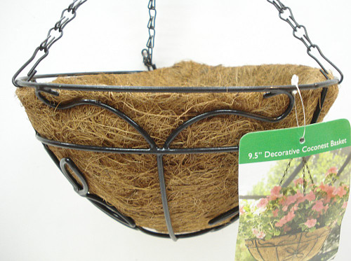 Better-Gro Decorative Coconest Hanging Basket