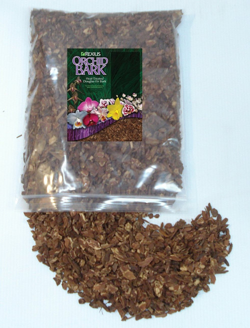 Rexius Douglas Fir Bark for Orchids - Small Chip Size - 1 Gallon
