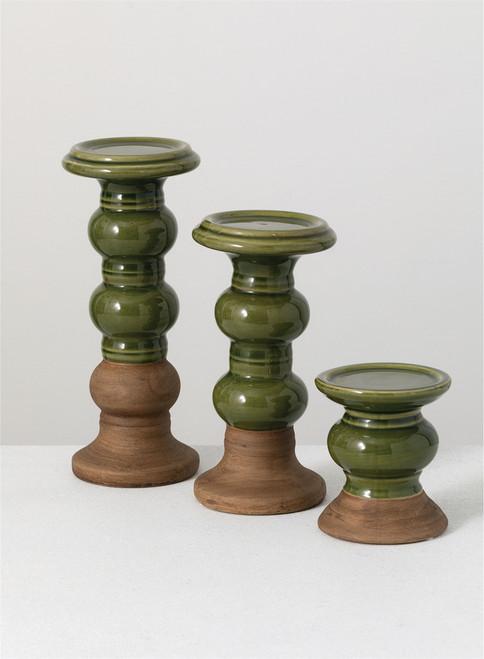 Ceramic Candle Holder - Medium