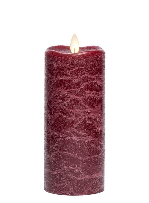 """Pomegranate Frosted Candle - 3"""" x 7"""""""