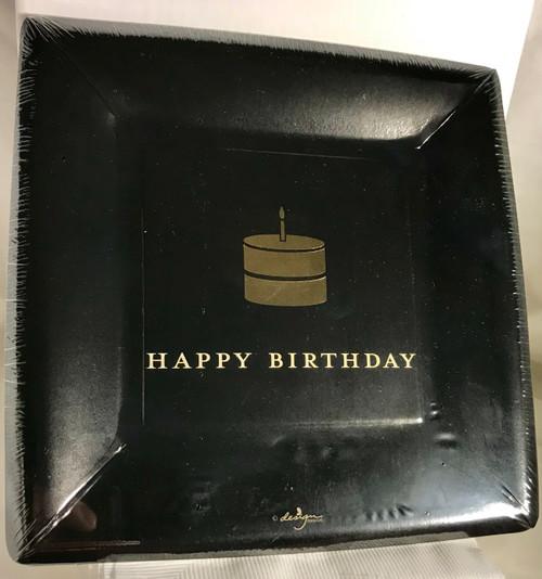 Timeless Celebration Dessert Plates