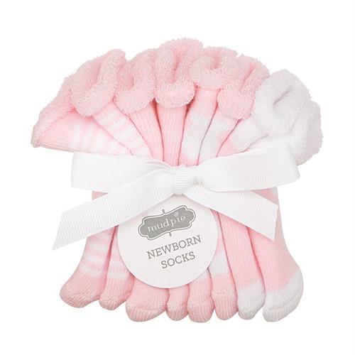 Newborn Sock Set - Pink
