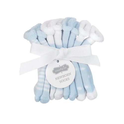 Newborn Sock Set - Blue