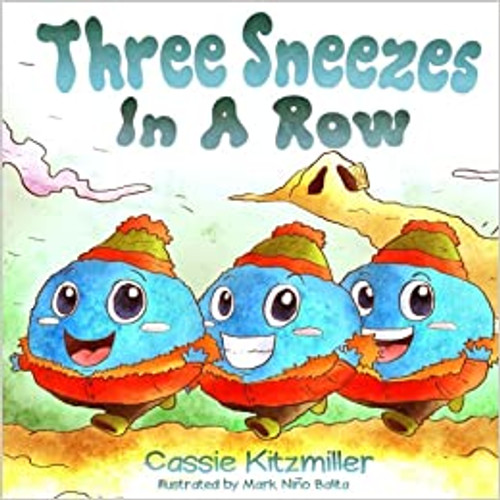 Three Sneezes in a Row (Three in a Row) Book - Autographed