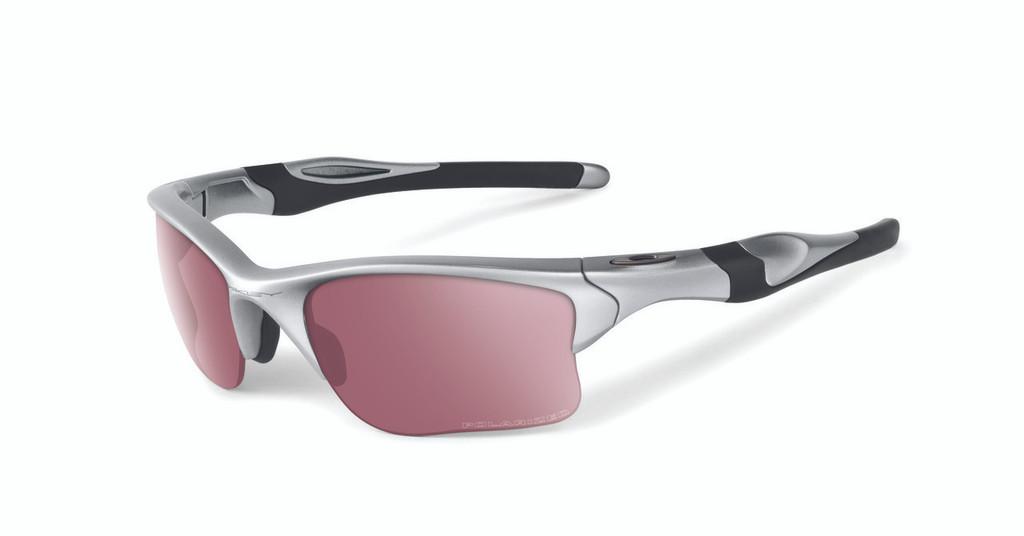 Oakley Sports Performance Half Jacket 2.0 XL Sunglasses - Silver Frame - G30 Iridium Polarised Lens  OO9154-06