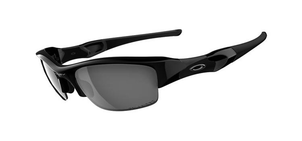 e0a91851b88c1 Oakley Sports Performance - Polarised Flak Jacket Sunglasses - Jet Black  Frame - Black Polarised Iridium