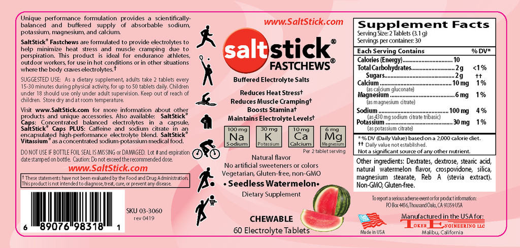 Saltstick Fast Chews
