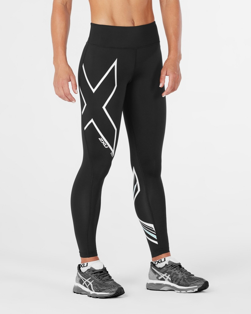 2XU - Women's Ice X Mid-Rise Compression Tights