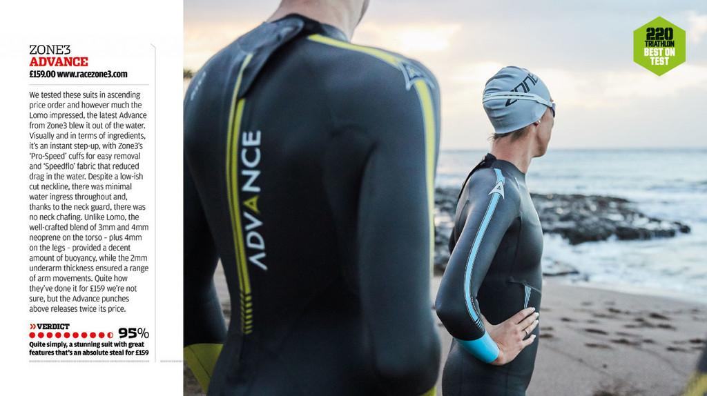 Zone3 - Advance Wetsuit - Men's - Ex-Rental 1 Hire