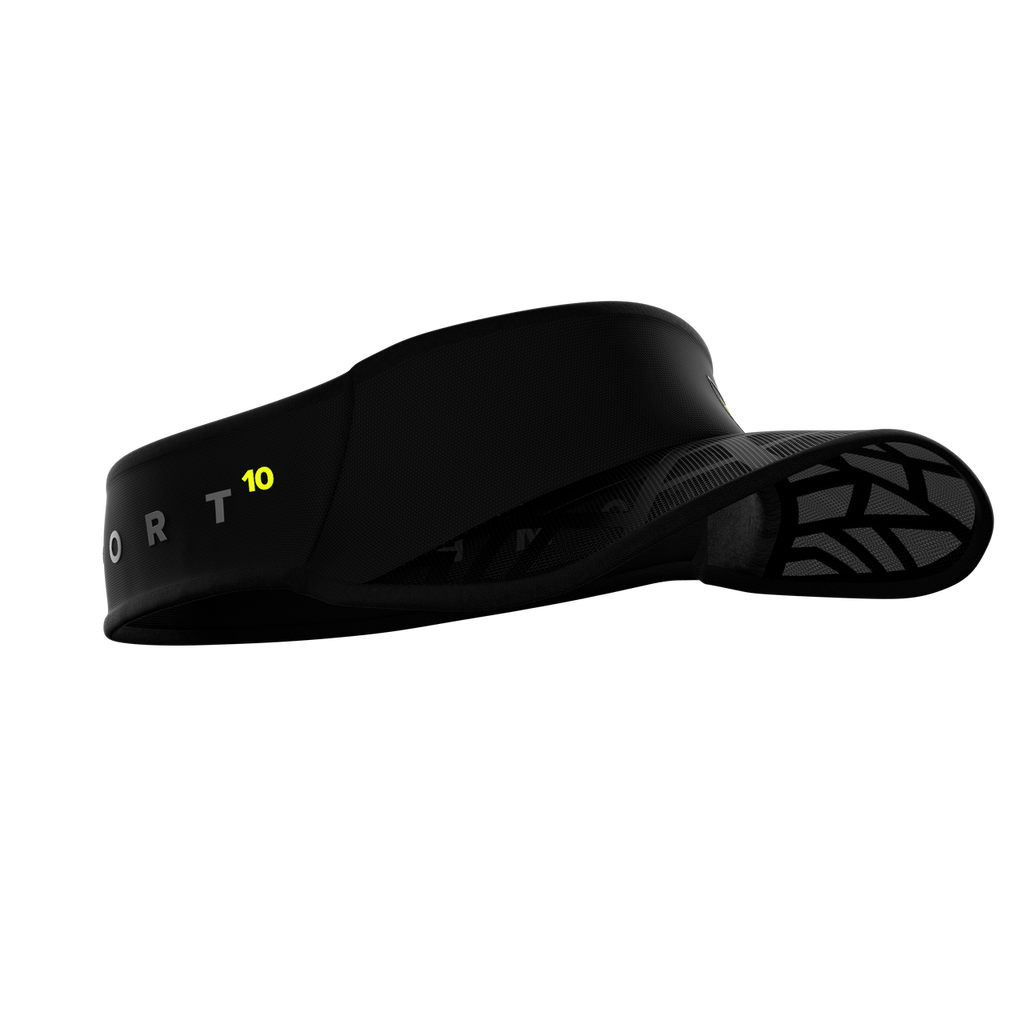 Compressport - Spiderweb Ultralight Visor - Black Edition 10