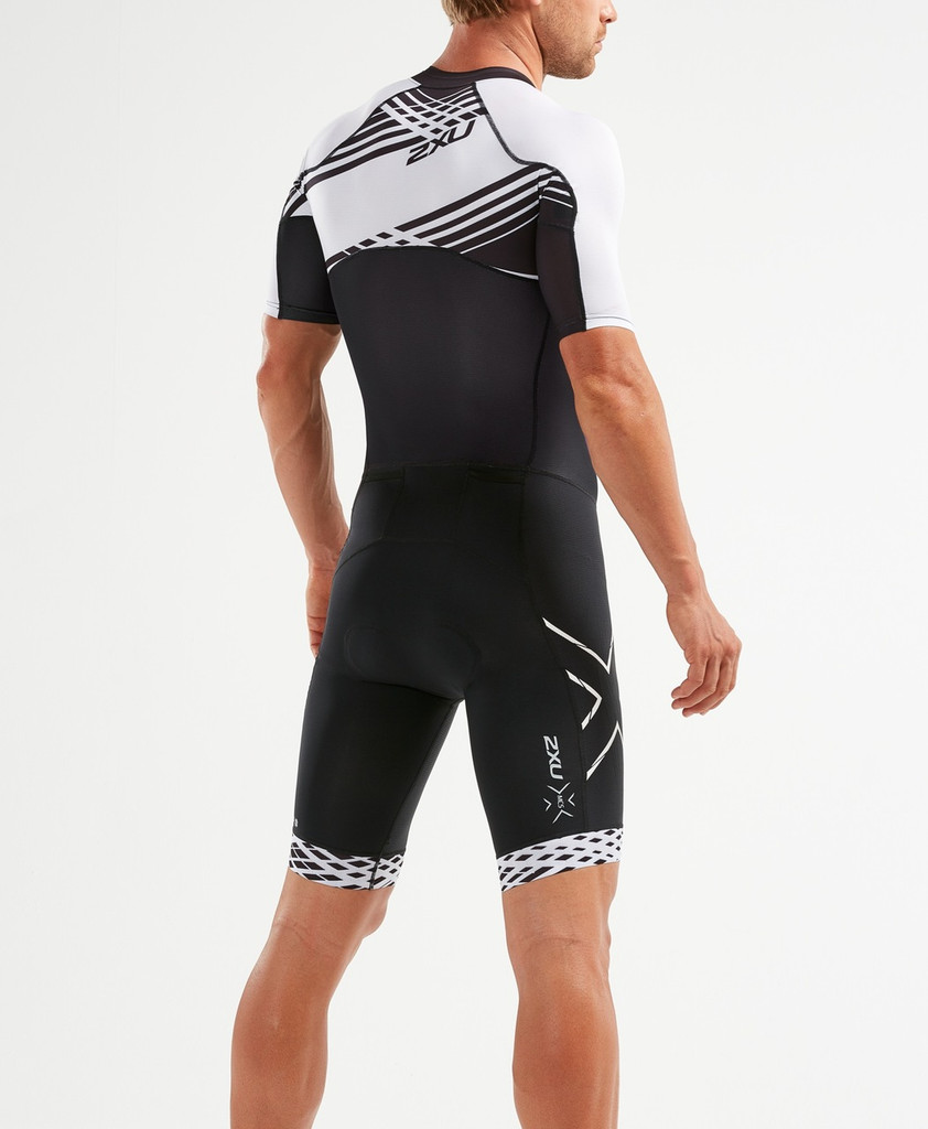 2XU - Compression Full Zip Sleeved Trisuit - Men's - *
