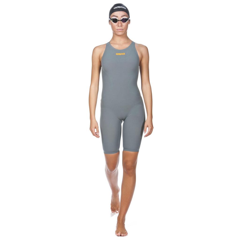 Arena - Powerskin R-EVO ONE Full Body Short Leg Open Back - Women's