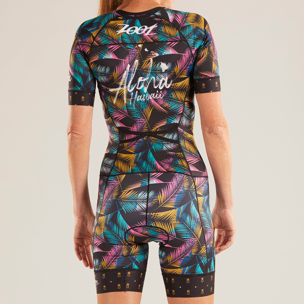 Zoot - LTD Tri Aero Short Sleeve Race Suit - Ali'i - 2019 - Women's