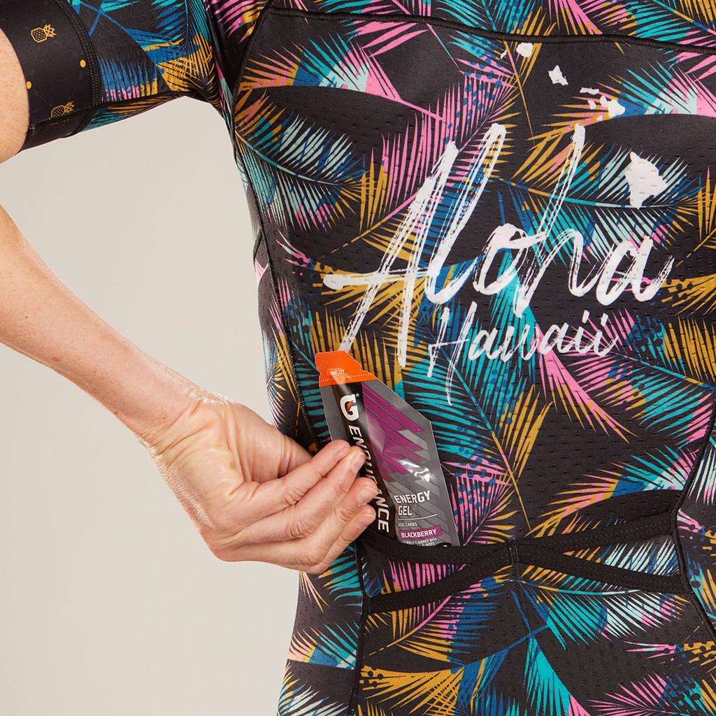 Zoot - LTD Tri Aero Short Sleeve Race Suit - Ali'i - * - Women's