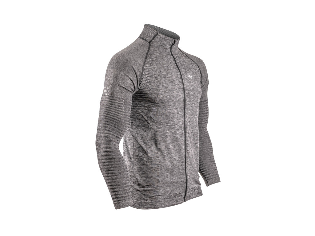 Compressport - Men's Seamless Zip Sweatshirt - 2020