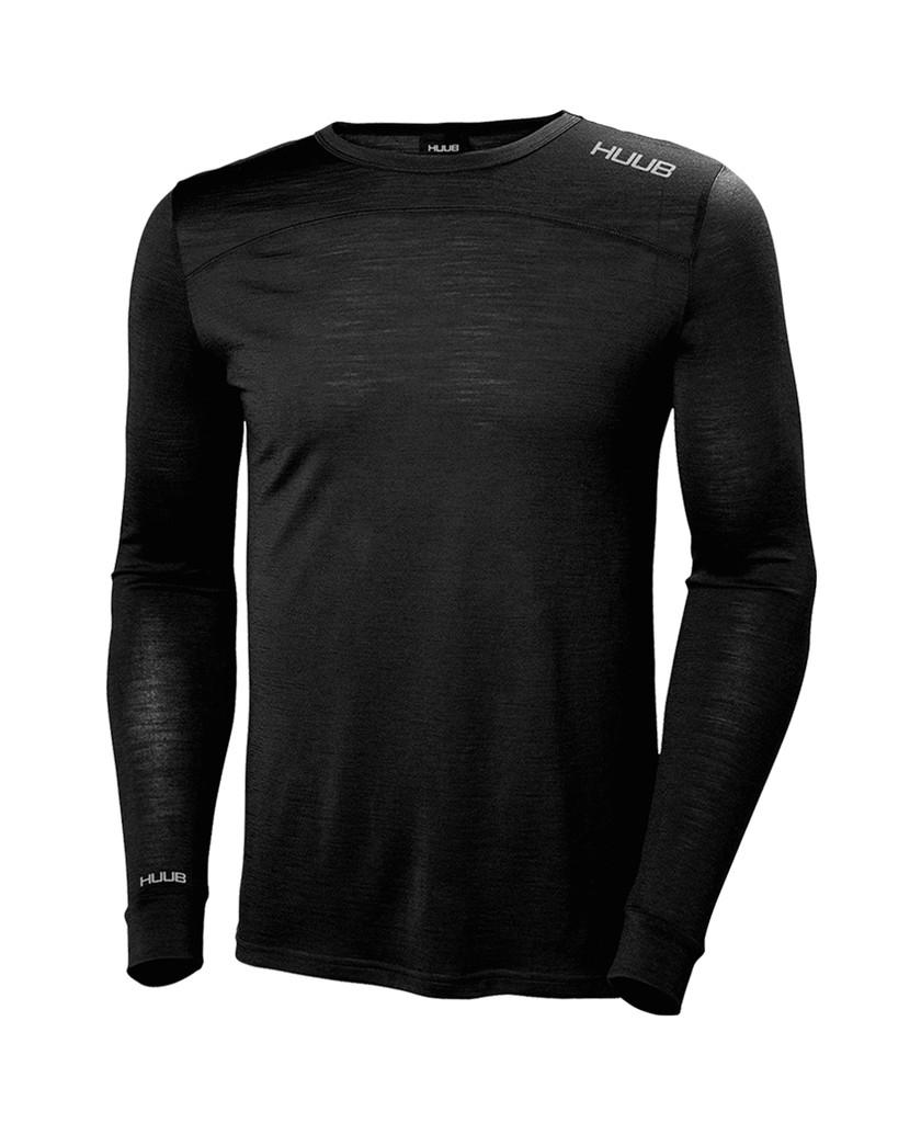 HUUB - 2020 - Merino Long Sleeve Base Layer - Unisex - Grey