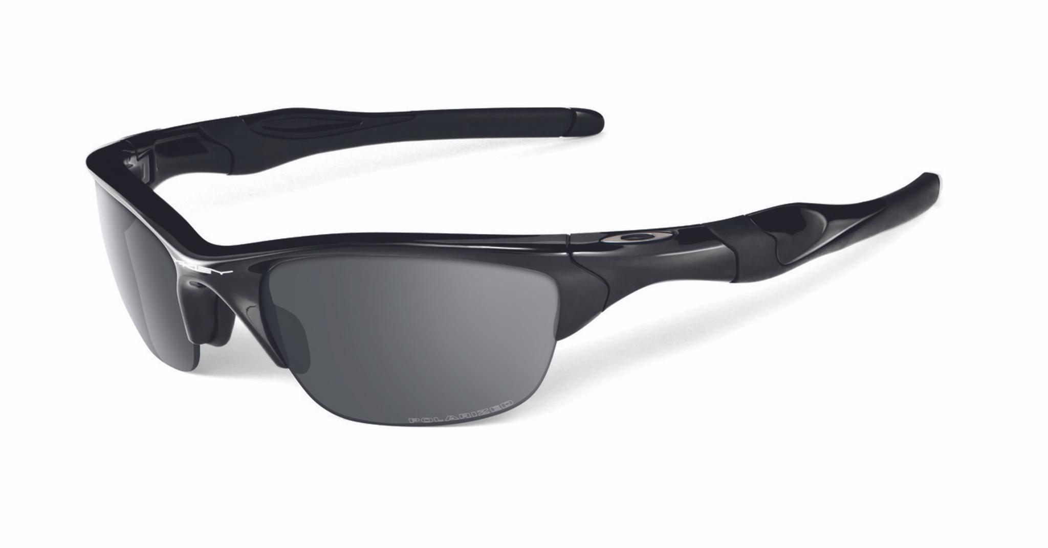 c4b6bfcc5d3 Oakley Polarised Half Jacket 2.0 Polished Black Frame and Black iridium  lens.