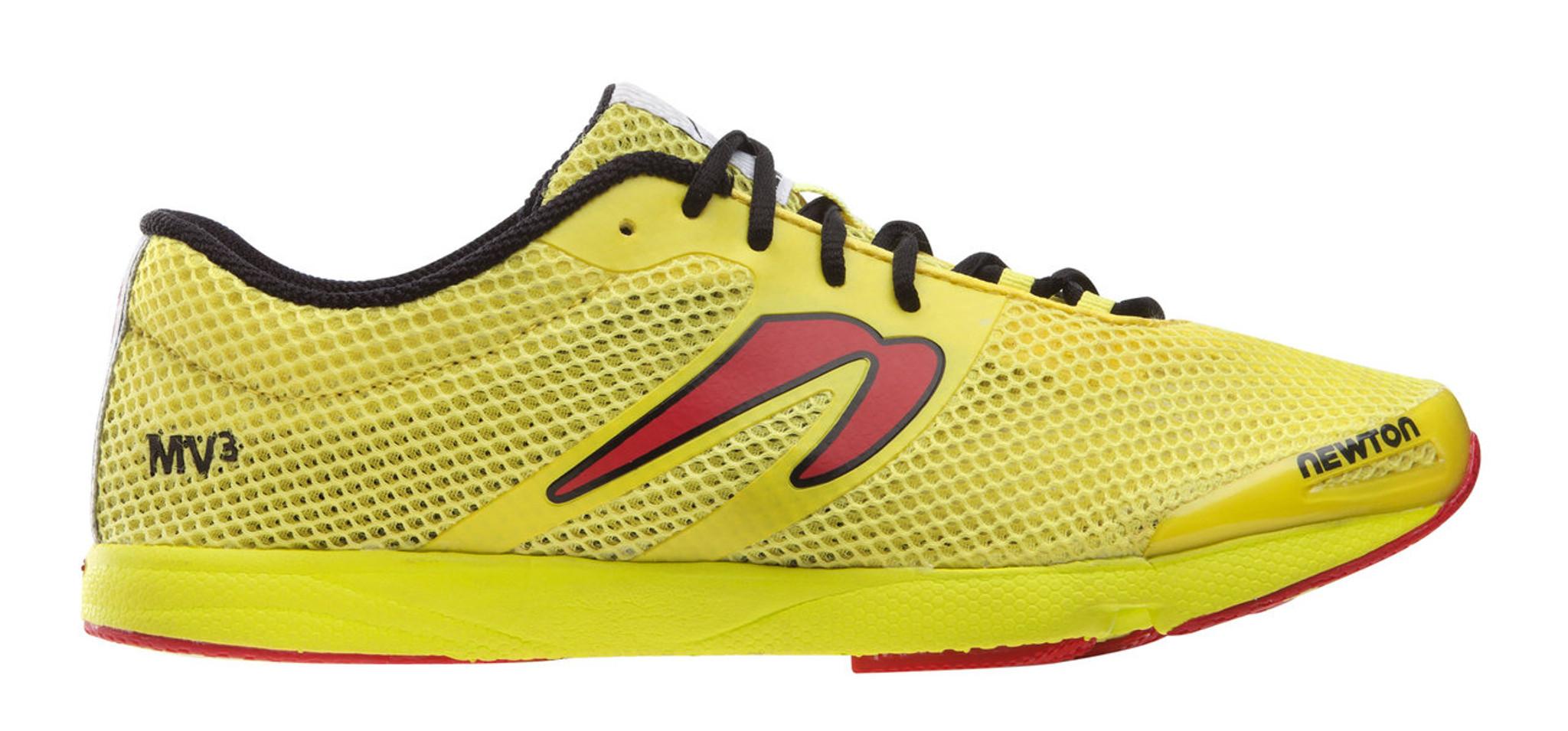 Newton Running MV3 Trail Running Shoes Yellow Mens