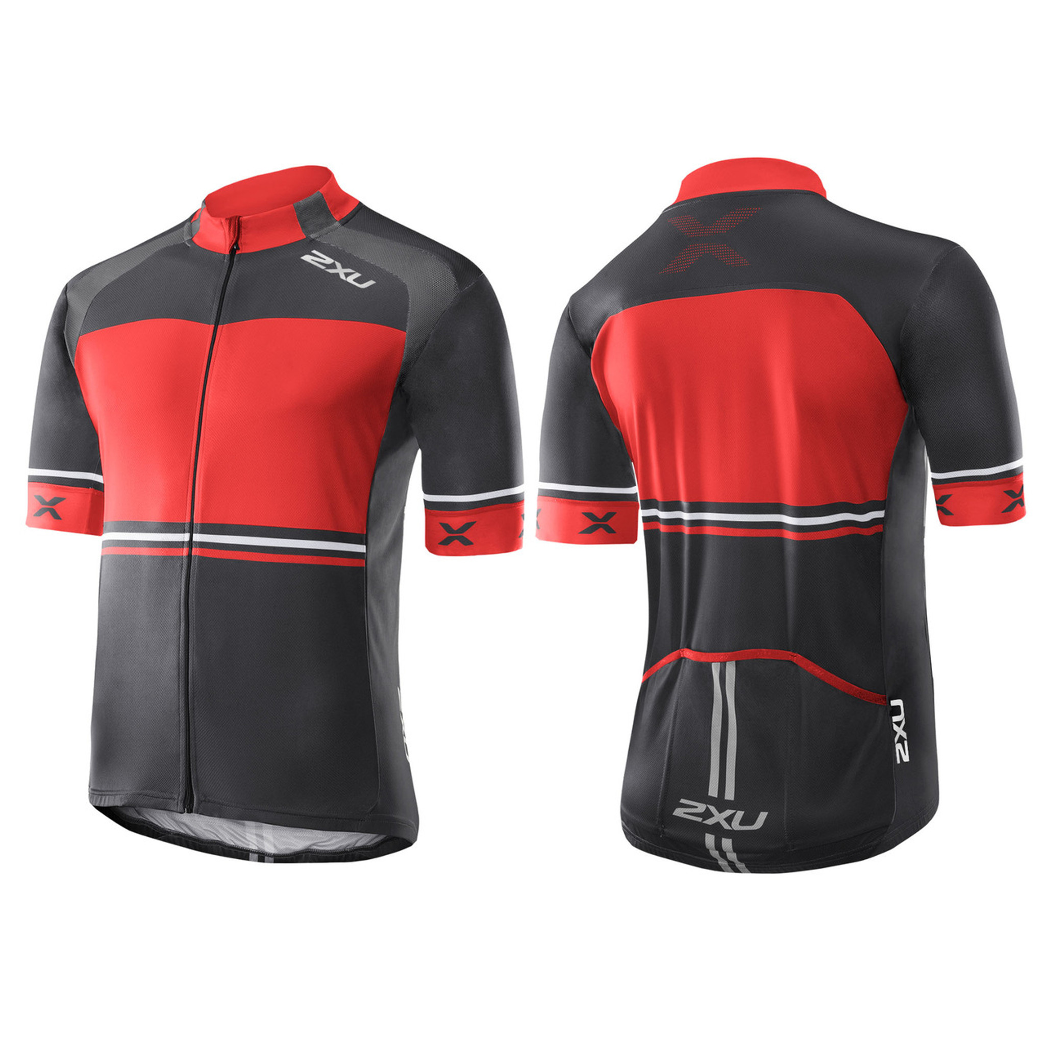 Mens 2XU Triathlon Sleeveless Cycling Bike Jersey Medium M