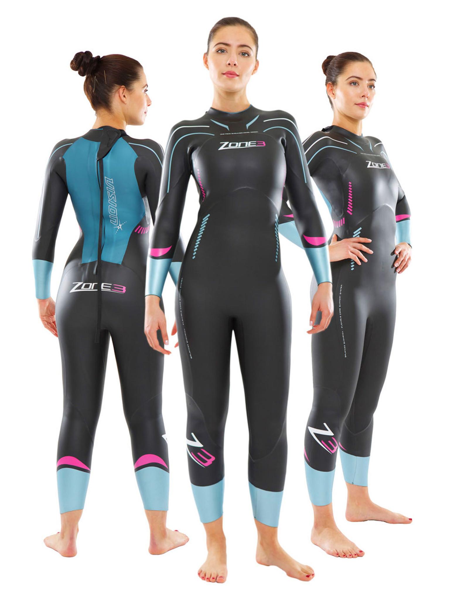 MyTriathlon - Zone3 2015 Womens Vision Wetsuit abeeecc83