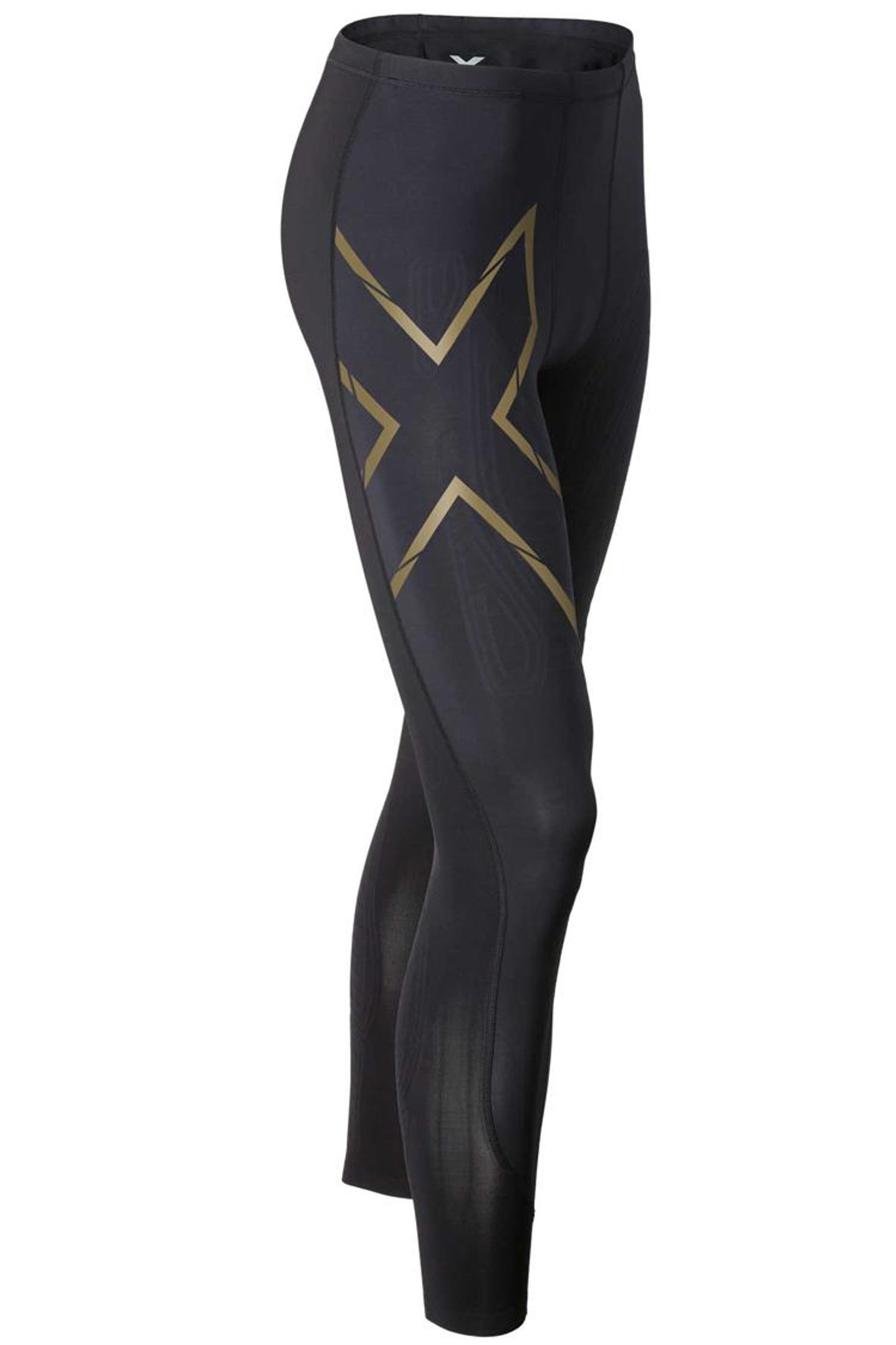 8a3ed50eb5fc8 2XU - Men's Elite MCS Compression Tights - Black/ Gold