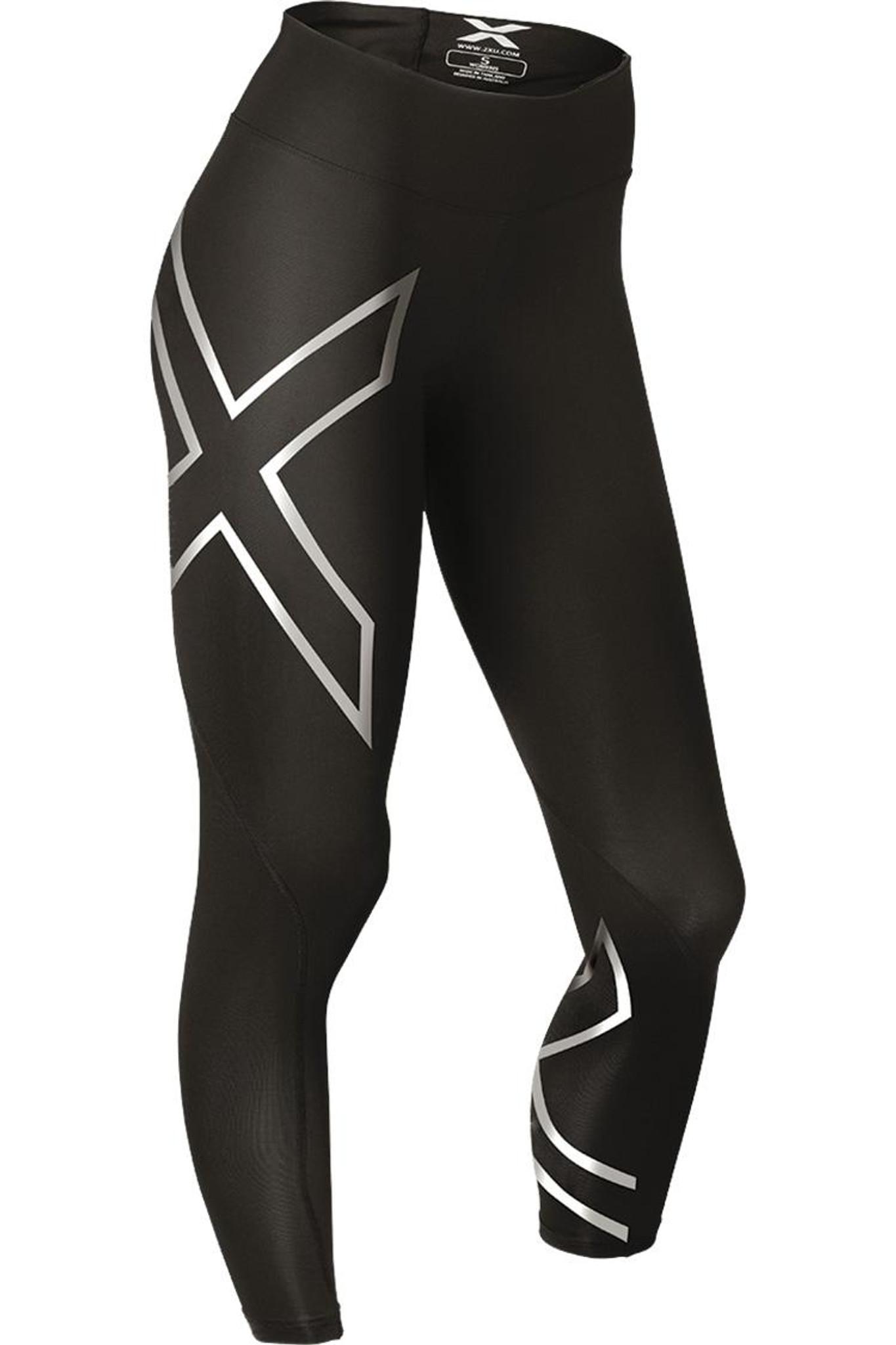 bab67d10dd 2XU Women's Hyoptik Mid Rise Compression Tights - MyTriathlon